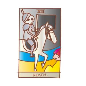 タロットカード 復縁 死神