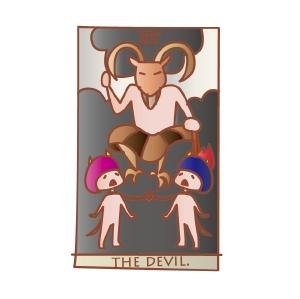 タロットカード 復縁 悪魔