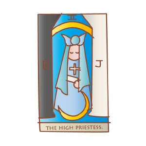 タロットカード 復縁 女教皇