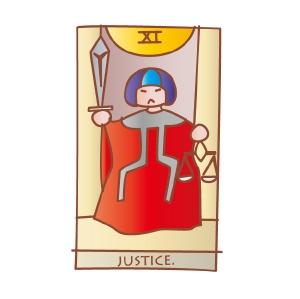 タロットカード 復縁 正義