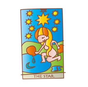 タロットカード 復縁 星