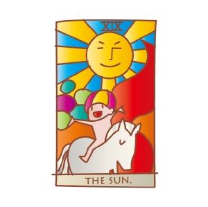 タロットカード 復縁 太陽