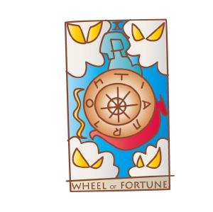 タロットカード 復縁 運命の輪